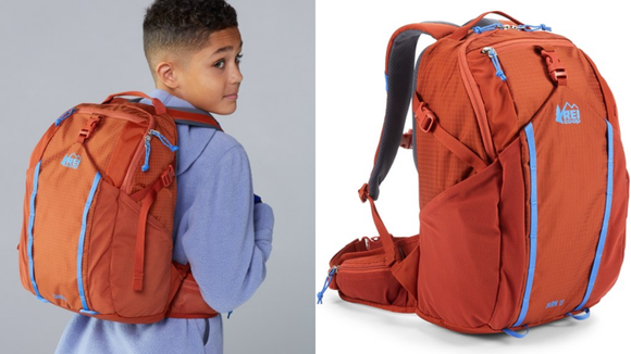 This backpack is perfect for adventurous kids.