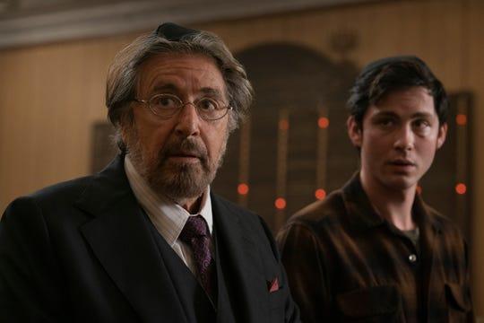 """Al Pacino and Logan Lerman in """"Hunters."""""""