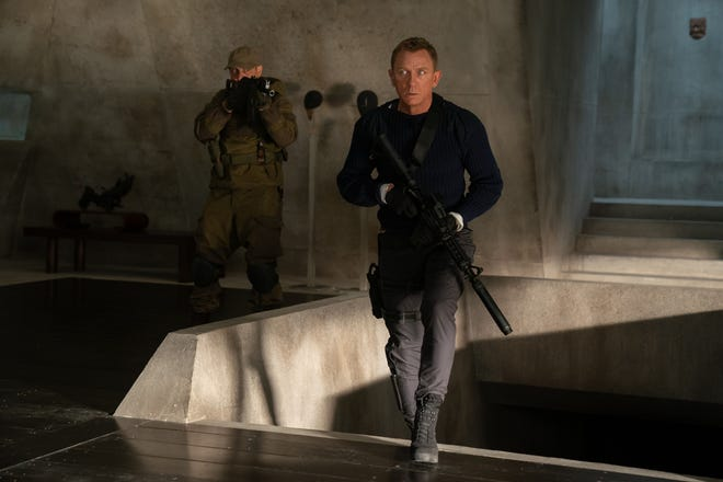 """James Bond (Daniel Craig) comes out of retirement to save the day and deal with a new villain in """"No Time to Die."""""""