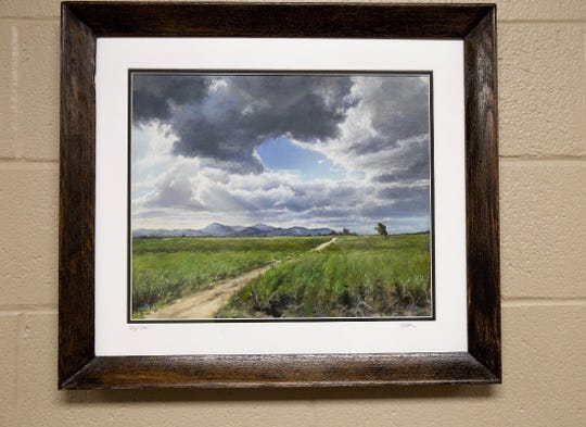 """Sugar Cane Field"" by Michael Wurman."