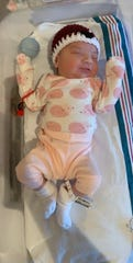 Hailey Rose was the first baby born in 2020 at Inspira Medical Center Vineland. The little girl arrived at 12:36 a.m.