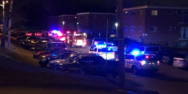 Police said a shooting in Mt. Airy left one man injured New Year's morning.