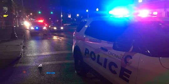 Several people were reportedly shot in the area of Sycamore Street and Central Parkway early Wednesday morning.