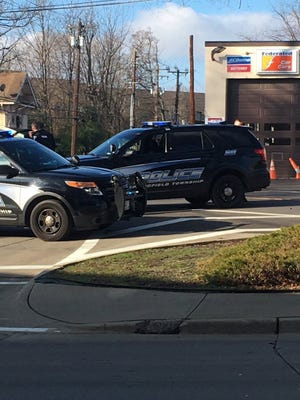 A standoff in Springfield Township has ended after shots were fired in an apartment Wednesday morning.