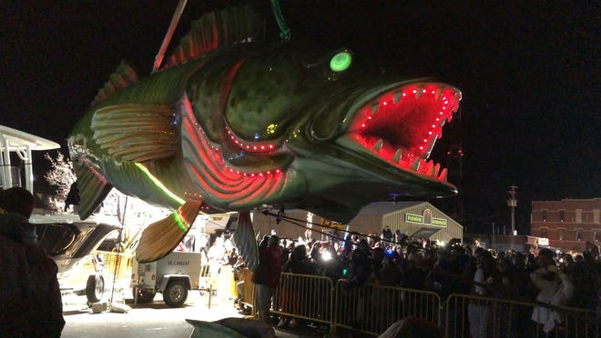 Thousands turned out in Port Clinton to welcome 2020 with the city's famous Walleye Drop.