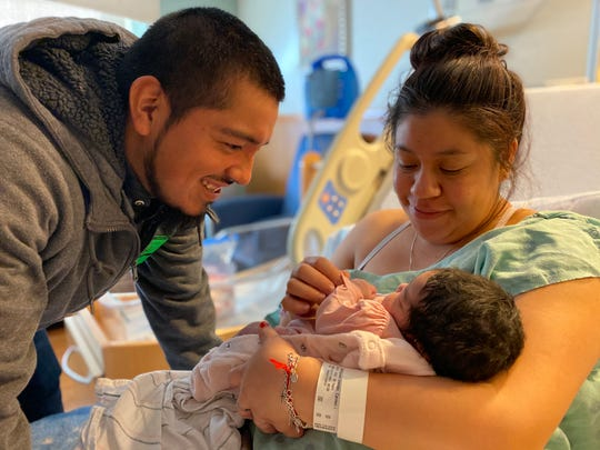 Eliza Genesis Sanchez Rodriguez was born at 7:06 a.m. on Jan. 1, 2020, at IU Health Methodist Hospital to parents Carmen Rodriguez-Mendoza and Jorge Sanchez.