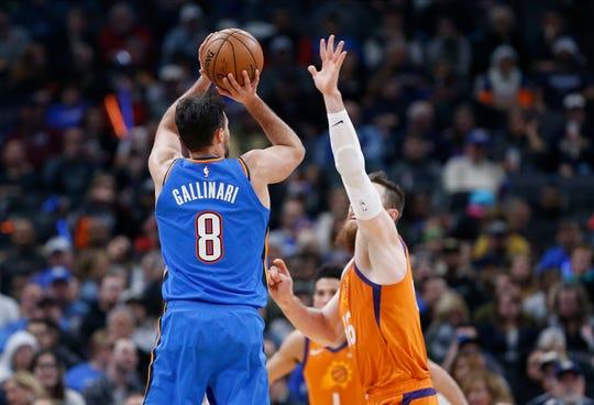 Would Danilo Gallinari (8) help the Phoenix Suns make the playoffs?