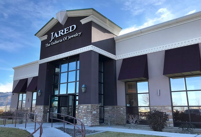 Jared the Galleria of Jewelry is seen at the Summit Reno mall on Dec. 31, 2019.