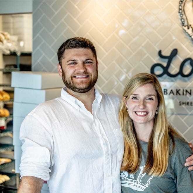 Preston and Sarah Lowder, owners of Lowder Baking Company.