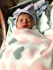 Aleeah Leilani Merjil, born at 12:03 a.m. on Jan. 1, 2020, is the first El Paso baby of 2020.