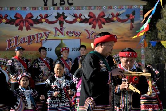 Visalia Lahu Baptist Church hosted its New Year Celebration on Wednesday, January 1, 2020.