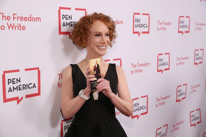 Kathy Griffin attends the PEN America LitFestGala on Nov.1, 2019 in Beverly Hills.