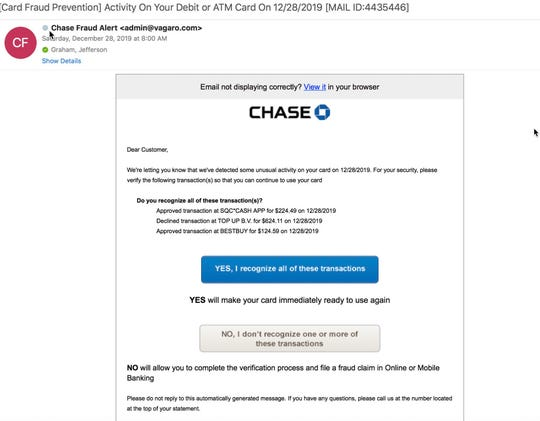 Don't fall for this phish attempt from fraudsters