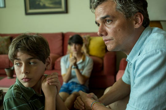 """Wagner Moura (right) plays a UN diplomat on one last assignment in Baghdad before retirement when he's caught up in a bomb blast in the drama """"Sergio."""""""