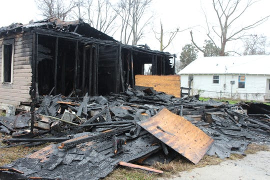 The Alexandria Fire Department responded to a house fire early Thursday morning on Harris Street.