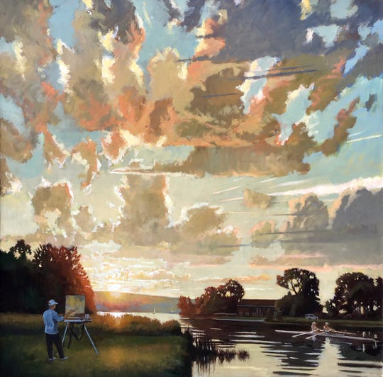 """""""Luminous Arias: Recent Work by Brian Keeler"""" will be on display at the Tioga Arts Council, 179 Front St. in Owego, through Jan. 21."""