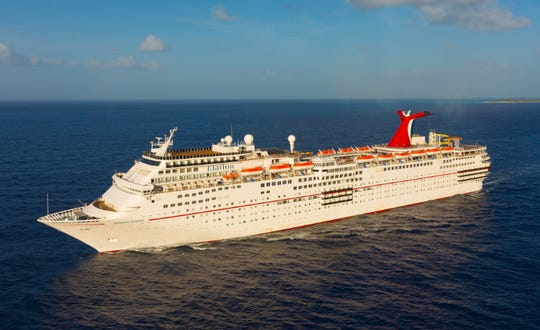 The Carnival Elation.