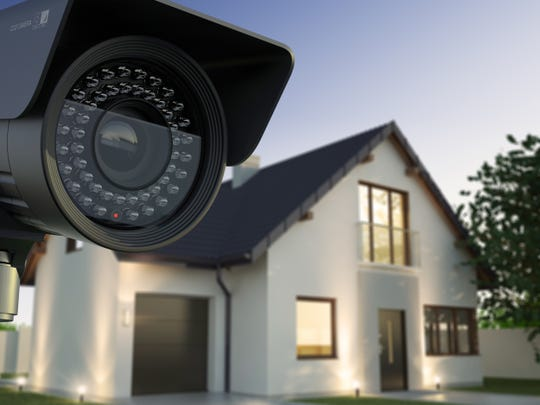 Cameras and other home security devices can help antiques and other valuables.