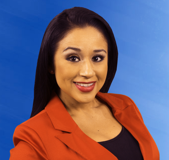 """Renown """"Domingo Live"""" host Barbi Leo joins KIII-TV as the new co-anchor for 3News First Edition."""