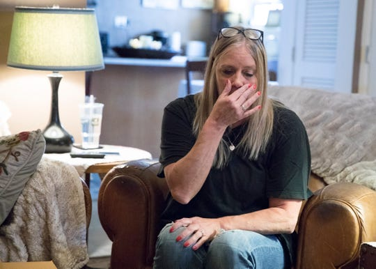 Karen Bower becomes emotional as she recollects the drug addiction struggles her sons Ben and Gabe are going through and their fight to stay clean.