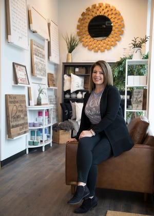 Deidre Rowland decided to start her own business after the death of her son and quit her job to open a faith based boutique in the new Fort Collective Building called Kindly.