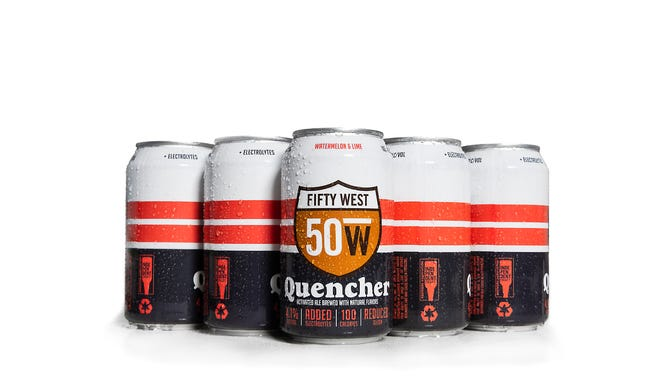 Fifty West is releasing a new 100 calorie beer called Quencher.