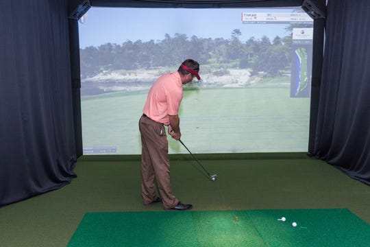 Weekly nine-hole golf tournaments indoors at the Neshanic Valley Golf Course Learning Center, 2301 South Branch Road in the Neshanic Station of Branchburg.