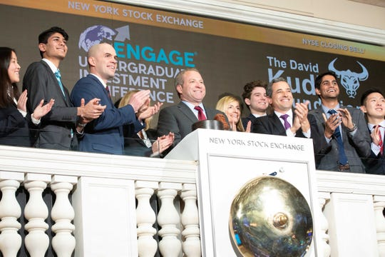 The New York Stock Exchange welcomes the The David Kudla Foundation and the ENGAGE® Undergraduate Investment Conference in celebration of ENGAGE® becoming the largest student stock pitch competition and conference in the world.