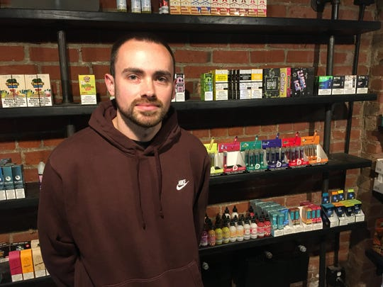 Nathan Esquivel is the owner of Corktown Smoke Shop in Detroit.
