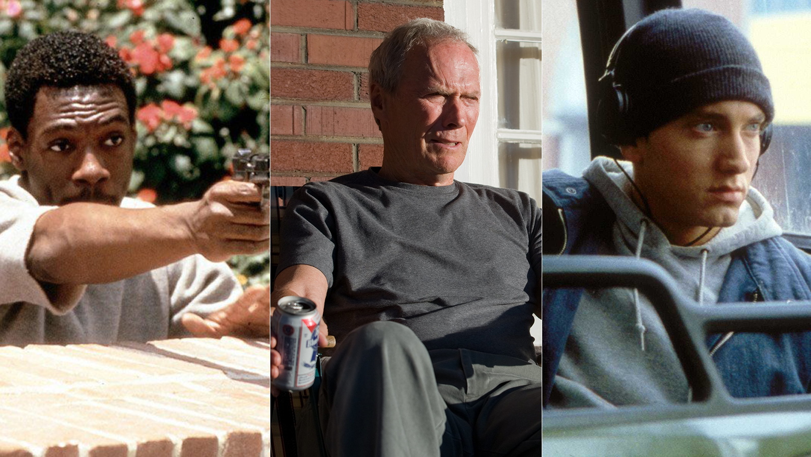 Michigan's greatest movies: Who won, Eddie Murphy, Clint Eastwood or Eminem?