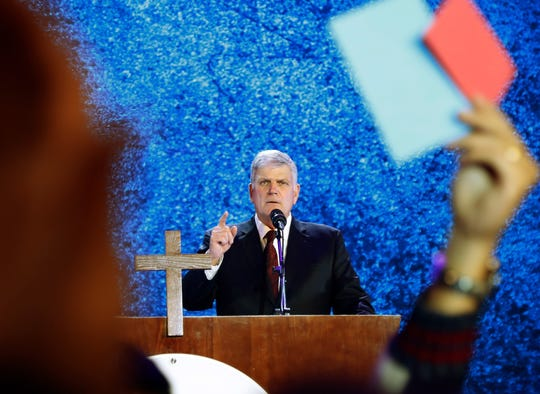 Franklin Graham, son of the late Rev. Billy Graham and one of President Donald Trump's most stalwart evangelical supporters, pointed to Trump's record on abortion as a key driver of the support from his religious community.