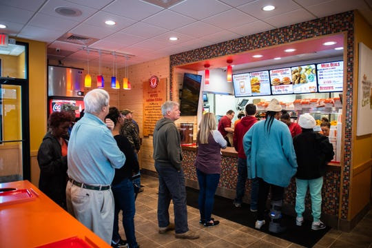 The new Popeyes restaurant on Clemson Boulevard in Anderson.