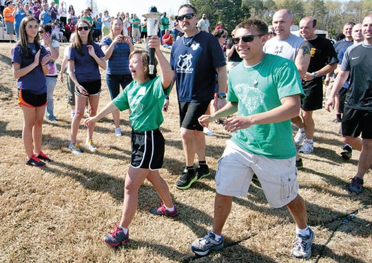 Upstate athletes participate in the Greenville Special Olympics Spring Games at Furman University