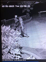 Suspects wanted in connection with a series of burglaries on Ypao Road in Tamuning. Anyone with information about the crimes is urged to contact Guam Crime Stoppers by visiting guam.crimestoppersweb.com.