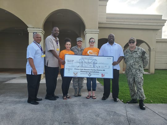 From October 2019 to December 2019 the Prince Hall Masonic Family, District 8, traversed the island and awarded cash donations and uniform certificates in dedication to his memory.