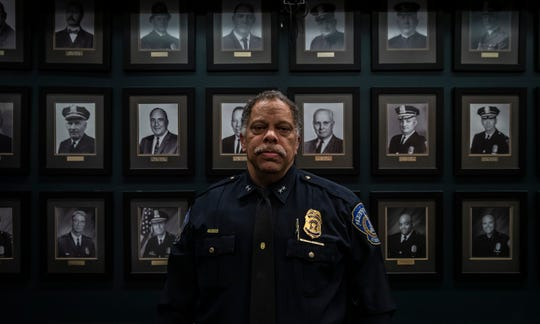 """I was never a cusser so I don't walk that walk or talk that talk,"" said Chief Randal Taylor, about how he plans to lead the Indianapolis Metropolitan Police Department during an interview at the City-County Building on Thursday, Jan. 2, 2020. ""My biggest strength is going to have to my heart."""