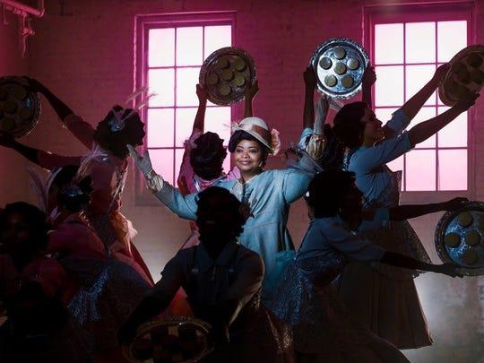 "Octavia Spencer portrays hair care entrepreneur Madam C.J. Walker in upcoming Netflix series ""Self Made."""