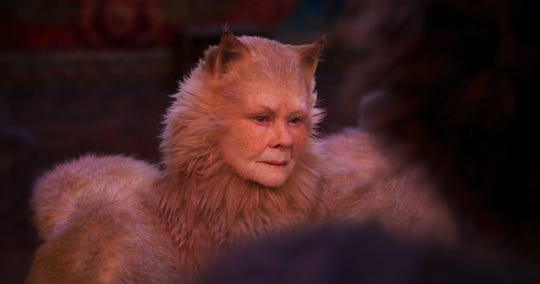 "Dame Judi Dench plays Old Deuteronomy in the 2019 adaptation of Andrew Lloyd Webber's musical, ""Cats."""