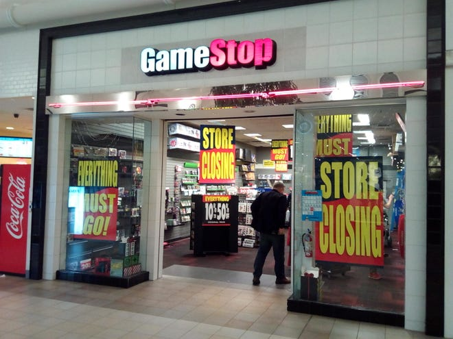 The GameStop in Coral Ridge Mall on Dec. 30, 2019, less than a month before its permanent closing.
