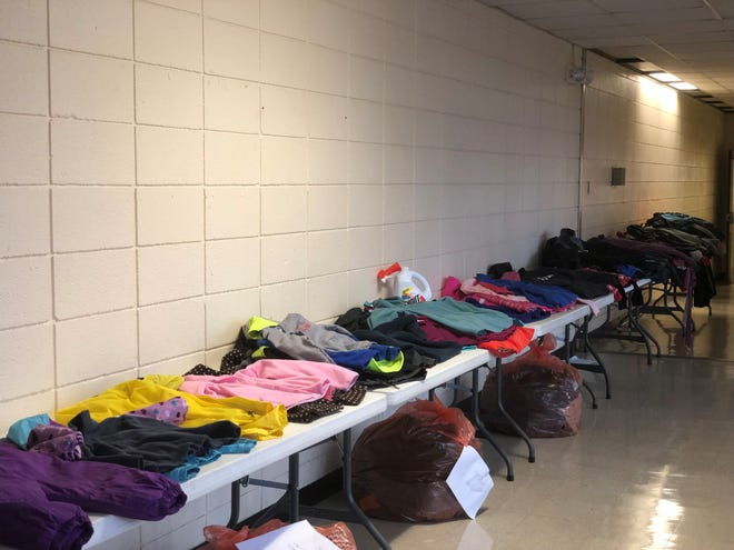 Approximately 300 coats were donated for JMCSS students in need.