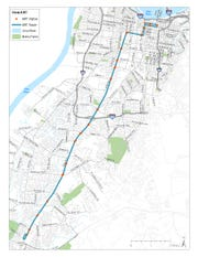 The Transit Authority of River City's new bus rapid transit (BRT) route, dubbed The Rapid, launches in January 2020 and will aim to quickly and safely take commuters to and from downtown Louisville along the Dixie Highway corridor.
