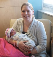 Jessica Meyer, a physician assistant at HFM Primary Care, gave birth to a baby girl — Lucille Joy Meyer — at 12:56 p.m. on Jan. 1 at the HFM Medical Center. Lucille checked in weighing 6 pounds, 15 ounces, and 19 inches long.
