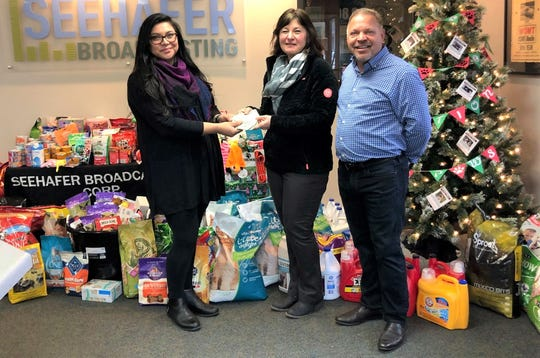 Lakeshore Humane Society received an anonymous $5,000 donation during its recent Operation Santa Paws fundraiser.
