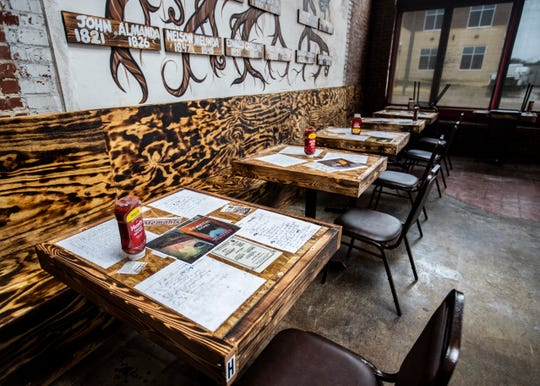 A look inside Chef Tam's Underground Cafe new location on Union Avenue.