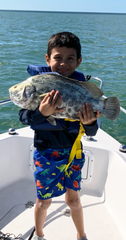 Charlie Roloff caught this with him dad Mark Roloff off Naples.