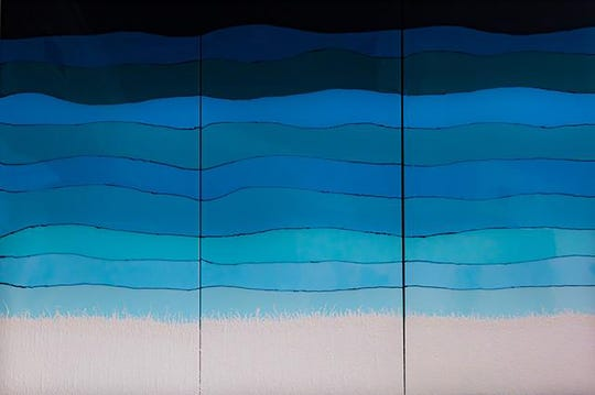 """Beach Day"" by Karla Kunzeman."