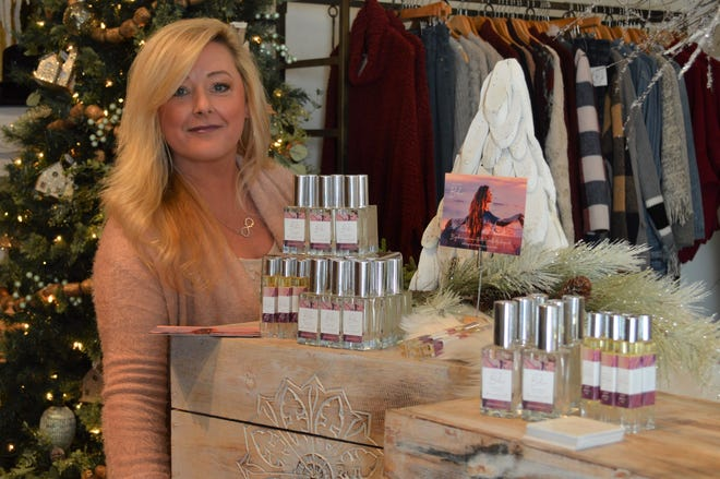 Jodi Schwefel of Oconomowoc started allurESSENCES, which makes the Pure Love (Boho) fragrance.