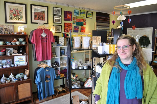 Amanda Scholz has curated a collection of jewelry, ceramics and other gifts at The Purple Turtle Artisan Collective, which opened Nov. 1 at 8742 N. Deerwood Drive, Brown Deer.