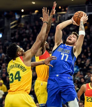 Mavericks forward Luka Doncic had 599 more votes than the Bucks' Giannis Antetokounmpo in the NBA's first all-star update Thursday.