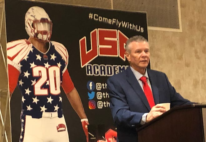 Rush Propst will be the first football coach at USA Academy, a prep school with plans to be located in Coosada.